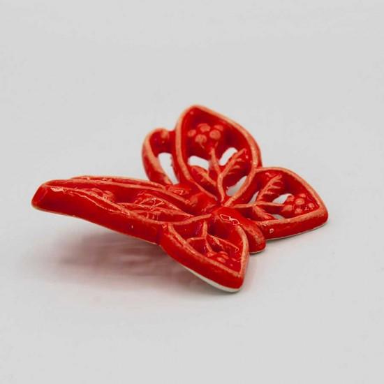 Farfalla in ceramica da appendere